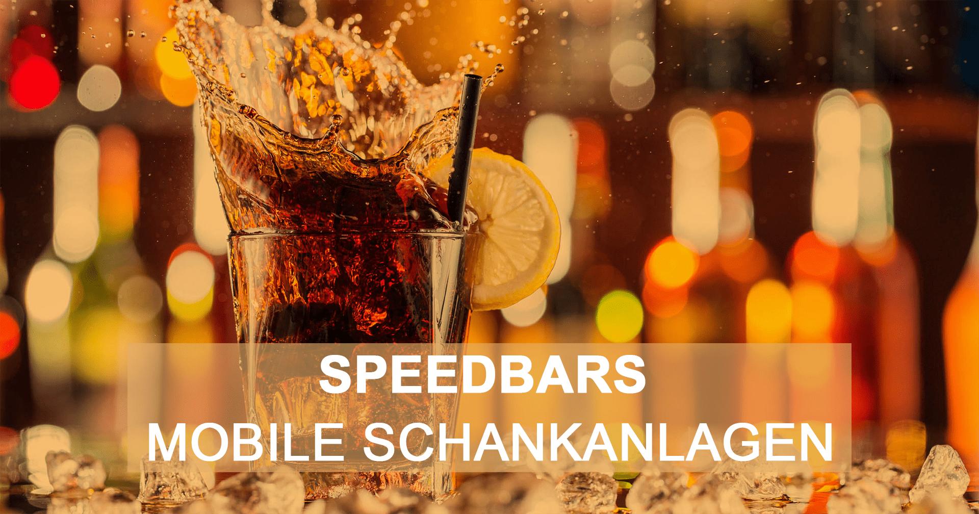 Mobile Bar + Schankanlagen ausleihen - Speedbars OG
